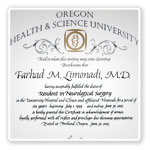 Neurosurgeon Farhad M. Limonadi, M.D. Certificatel 6